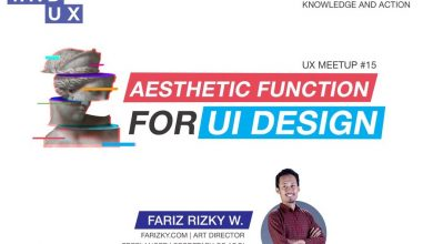 Photo of INDUX Meetup #15 – Aesthetic Function For UI Design