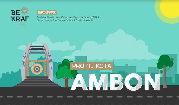 Profil Kota Kabupaten Kreatif Kota Ambon Indiekraf Com