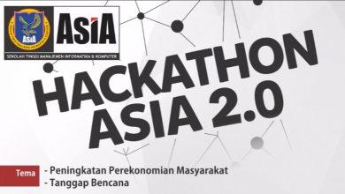Photo of Mengulang kesuksesan di 2017, HACKATHON ASIA 2.0 Hadir Kembali !