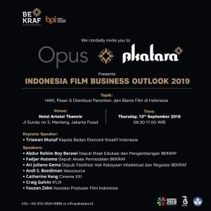 Indonesia Film Business Outlook 2019