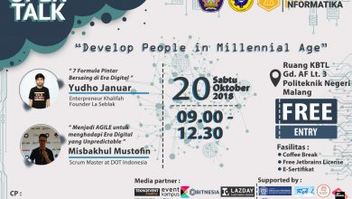 Photo of Event OPEN TALK #5 – Develop People in Millenial Age