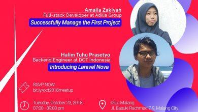 Photo of Meetup Malang PHP Usergroup Edisi Oktober 2018