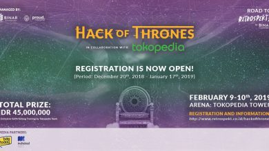 Photo of Binar Academy dan Tokopedia Gelar Kompetisi Hack of Thrones 2019