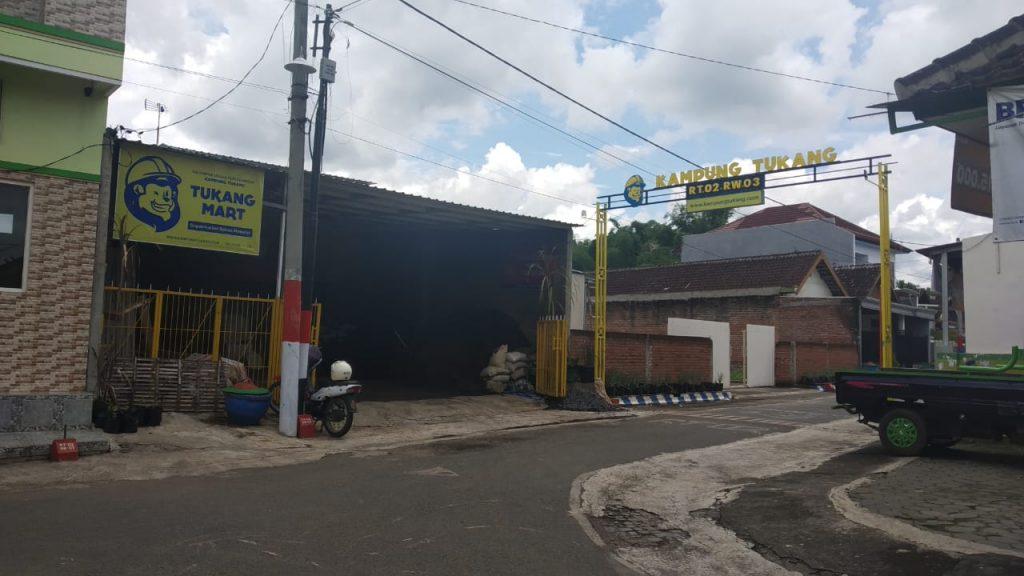 Lokasi Kampung Tukang di Pakis, Malang via @indiekraf