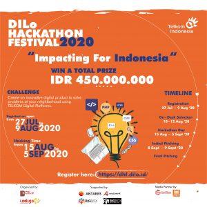 DILo Hackathon Festival 2020 (Gambar via dilo.id)