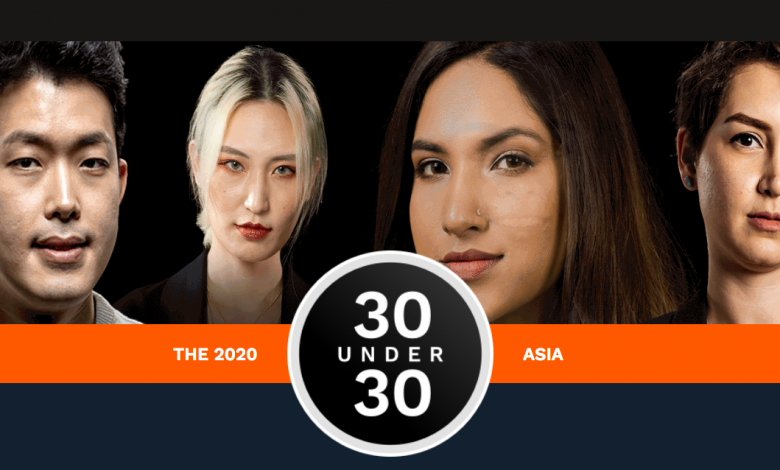 Forbers 30 Under 30 Asia 2020 (Gambar via www.forbes.com)