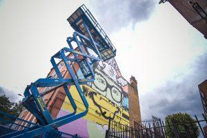 Karya Para Seniman di London Mural Festival 2020 (Foto via Facebook London Mural Festival @londonmuralfestival)