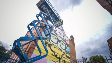 Photo of Simak! Karya dari 150 Seniman di London Mural Festival 2020