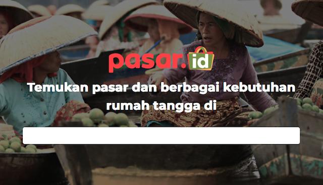 Pasar Tradisional Malang sudah mulai go online (Foto via pasar.id)