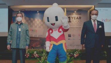 Maskot Event Paviliun Indonesia Expo 2020 Dubai (Foto via Twitter @kemendag)