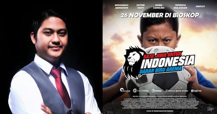 Film Darah Biru Arema siap diputar di seluruh bioskop Indonesia (Foto via darahbiruarema.com)