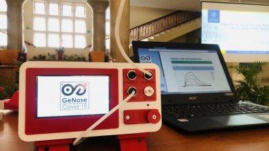 Alat pendeteksi Covid-19 karya para ahli dari UGM bernama GeNose siap dipasarkan (Foto via ugm.ac.id)
