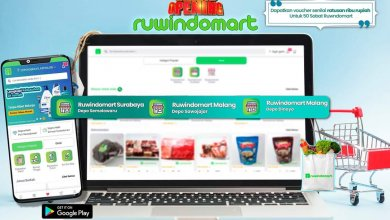 Belanja kebutuhan rumah tangga dengan mudah bersama Ruwindomart (Gambar via Twitter @ruwindomart)
