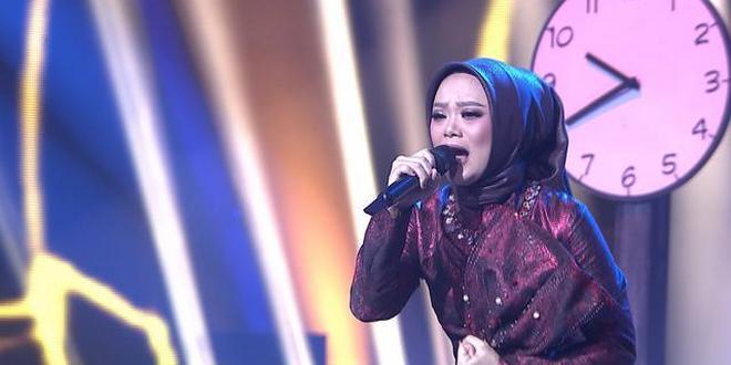 Dukung Agnes Cefira untuk menjadi juara di Pop Academy Indosiar (Foto via Twitter @PemkotMalang)