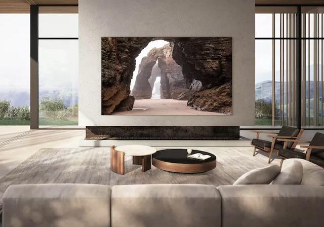 Samsung hadirkan TV dengan harga lebih dari 2 miliar (Foto via Samsung)