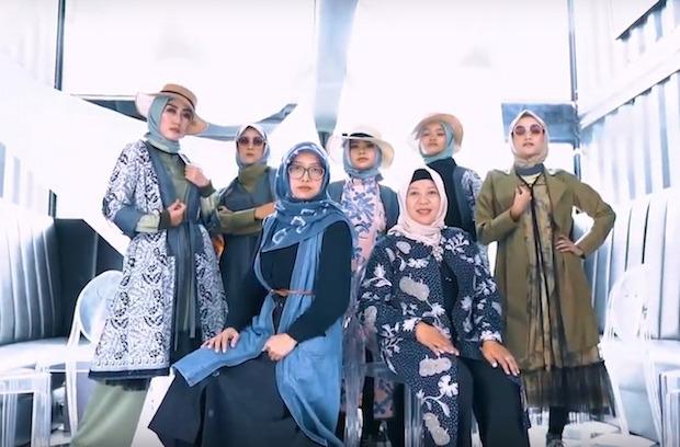 Tetap meriah meski diselenggarakan secara virtual (Foto via YouTube Malang Batik Parade)