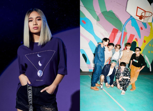 NIKI raih penghargaan Best Asian Album of the Year (Foto via Instagram @nikizefanya dan @bts.bighitofficial)