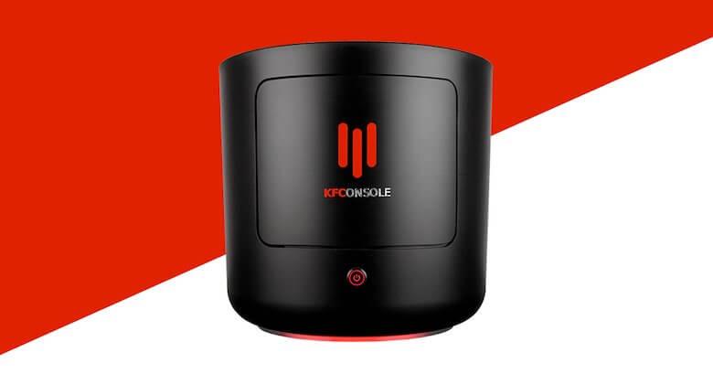 KFConsole, hasil inovasi PC gaming dari KFC (Foto via landing.coolermaster.com)