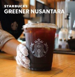 Starbucks Kemasan rPET: Dukung Greener Nusantara